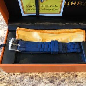 Stuhrling Original Accessories - Stuhrling Aquadiver Professional Diver 200M Watch